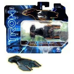 Tron Legacy Series 1 Die Cast Vehicle Clus Command Ship Toys & Games