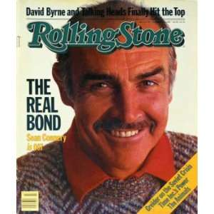 Rolling Stone Cover of Sean Connery / Rolling Stone Magazine Vol. 407
