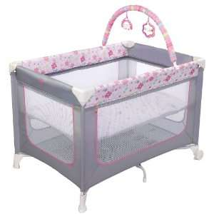 Bright Starts Blossomy Blooms Playard Baby