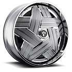 28 DUB SPIN Crown Wheel SET Chrome Spinner 28x10 RWD 5 & 6 LUG RIMS