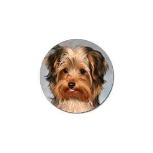 Yorkshire Terrier Puppy Dog 10 Golf Ball Marker (10 pk
