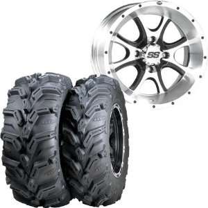 ITP Mud Lite XL SS108 Machined Alloy 26in.x12in. Left Rear Tire/Wheel