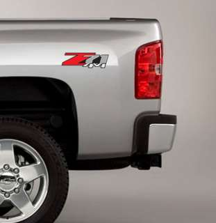 Z71 4x4 Decals Fit GMC SIERRA CHEVY SILVERADO