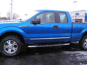 FORD F150 Chrome Body Side Moldings Trim 2004 2011