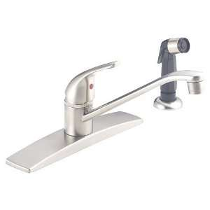 Delta SBS 81310 Single Handle Chrome Kitchen Faucet w/ Spray