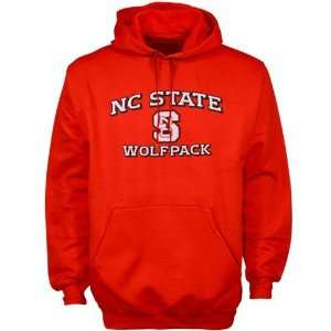 adidas North Carolina State Wolfpack Red Stacked Hoody