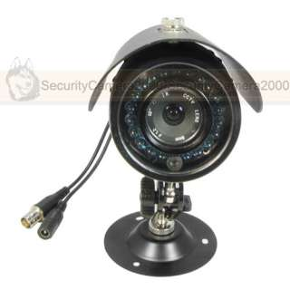 All Weatherproof Waterproof Sony CCD Color Camera 20m IR Night 540TVL