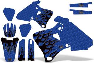 AMR MX STICKER GRAPHICS KIT YAMAHA YZ 400 YZ400F 98 99