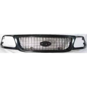 99 02 FORD EXPEDITION GRILLE SUV, Eddie Bauer Model, Paint