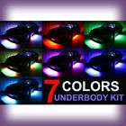 4PC USB 3 MILLION COLOR UFO UNDERBODY LED LIGHTING KIT