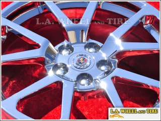 Set of 4 New Cadillac CTS V Sedan 19 OEM Chrome Wheels Rims