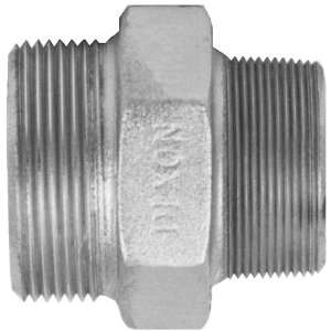 Dixon Valve GM38 Plated Steel Air Fitting, Ground Joint Seal Male Spud