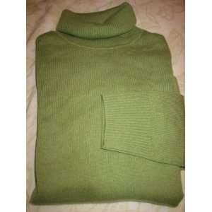 Womens Cashmere Turtleneck Sweater Large