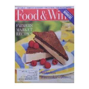 Food & Wine Magazine (Food & Wine, September 1996) Dana Cowin Books
