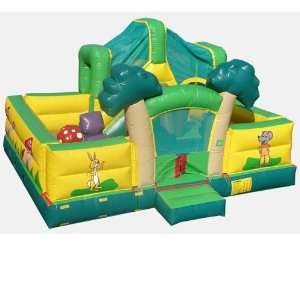 Jungle Toddler Game Bounce House (Commercial Grade) Toys & Games