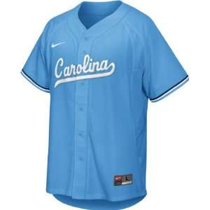 North Carolina Tar Heels Youth Light Blue Nike Replica