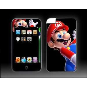 iPod Touch 3G Super Mario Bros #3 Galaxy Brothers Vinyl Skin kit fits