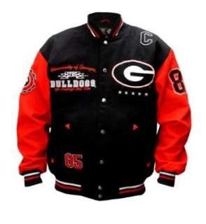 Adult Georgia Bulldogs Licensed Collegiate Varsity Jackets Clothing