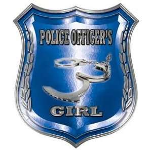 Law Enforcement Police Shield Badge Police Officers Girl