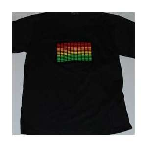 Green Bar TechnoTeez Sound Activated T Shirt Everything