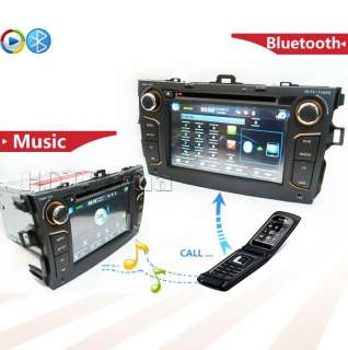 din CAR GPS dvd player radio for TOYOTA COROLLA