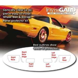 Acura NSX Wheel Well & Rocker Panel Protectors Automotive