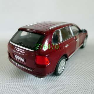 24 Welly Porsche Cayenne Turbo Alloy Diecast Red