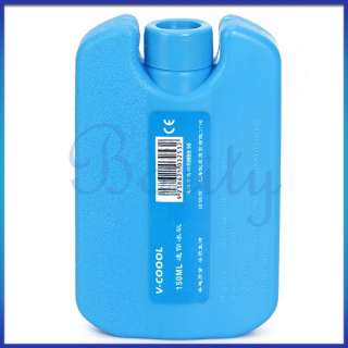 Reusable Coolant Ice Pack Picnic Lunch Box Ice Substitute Blue