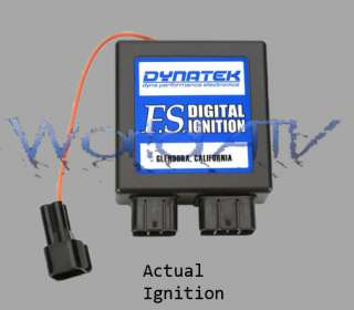 DynaTek CDI/ECU Ignition Rev Box Honda TRX450R 08 09