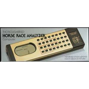 Thoroughbred Horse Race Analyzer Handicapping Computer