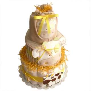 BABY SHOWER GIFT   CUSTOM DIAPER CAKE for Boy or Girl