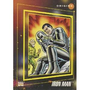The Origin of Iron Man #165 (Marvel Universe Series 3 Trading Card