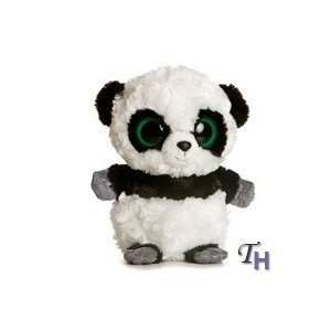 mini panda bear plush stuffed animal teddy tiny small 8 white plushie