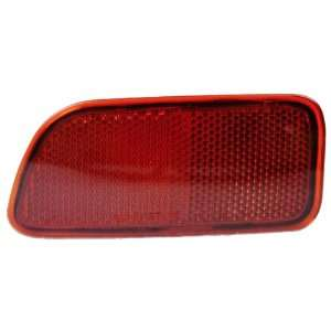 OE Replacement Chevrolet Trailblazer Rear Driver Side Bumper Reflector