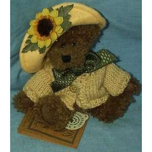 Boyds Bears & Friends Flora MaeBloom with Joy 5 Plush Bear