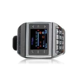 Quadband Touchscreen Cell Phone Watch with Keypad + 2GB TF