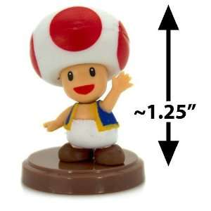 Toad ~1.25 Mini Figure [Super Mario Choco Egg Mini Figure