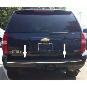 Chevy Tahoe / Suburban Chrome Rear Bumper Trim Molding 07