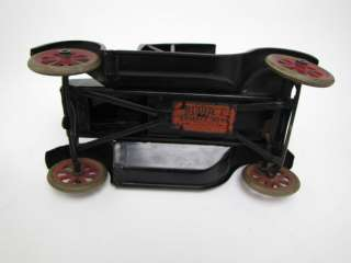Vintage Buddy L Flivver Pressed Steel Roadster Car Toy