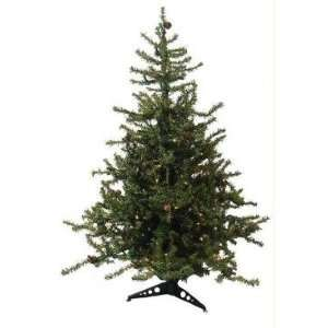 3 Pre Lit Tannenbaum Artificial Christmas Tree   Clear