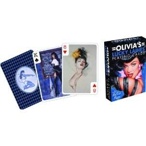 Aquarius   Bettie Page jeu de cartes à jouer Olivias