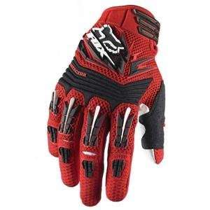 Fox Racing Pawtector Gloves   X Large/Red Automotive