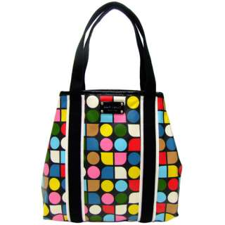 NEW Kate Spade Rainbow Noel Eddie Tote Black Bag NWT