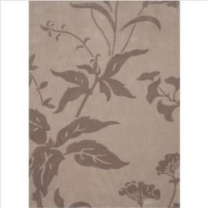 Chantal Adeline Light Brown / Dark Brown Contemporary Rug
