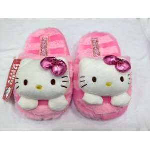Cute Sanrio Hello Kitty Plush Slipper (kids size up to 7.5