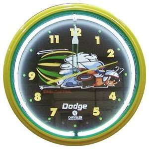 Scat Pack Dodge Chrysler Neon Metal Wall Clock 20 Made