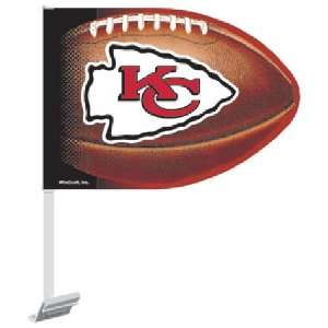 Kansas City Chiefs NFL Car Flag (11.75x14.5)  Sports