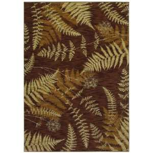 Shaw Bob Timberlake Forest Ferns Dark Brown 04710 9 6 x
