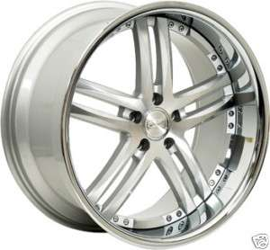 20 CONCEPT ONE RS 55 WHEELS RIMS STAGGERED 5X120 BMW 328 335 535 550