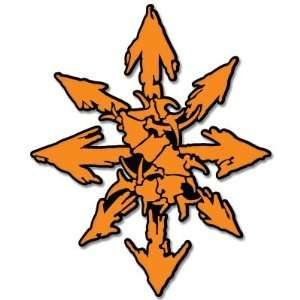 SEPULTURA chaos heavy metal sticker decal 4 x 4